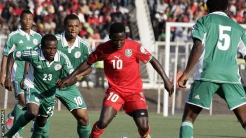 Malawi v Nigeria in 2014 World Cup qualifying