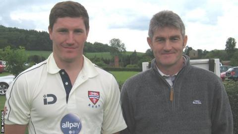 Greg and Jeremy Leighton