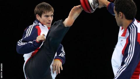 Taekwondo world number one Aaron Cook