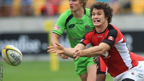Paris in action for Canada 7s