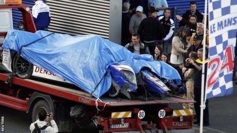 Anthony Davidson's Toyota