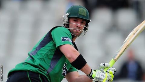 Worcestershire and Australia batsman Phillip Hughes