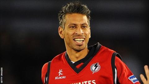 Lancashire bowler Sajid Mahmood