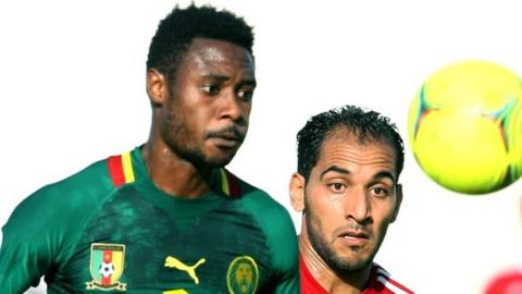 Cameroon captain Nicolas Nkoulou