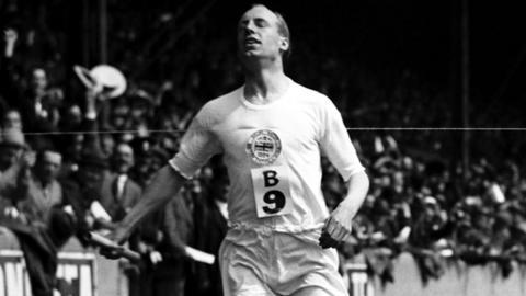 Scottish Olympian Eric Liddell