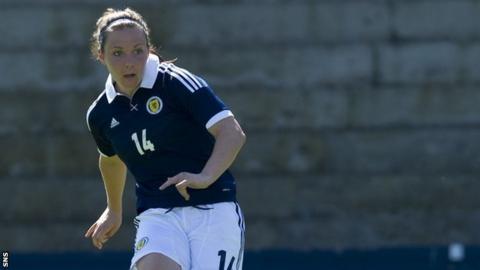 Scotland player Rachel Corsie