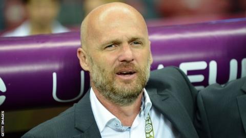 Czech Republic coach Michal Bilek