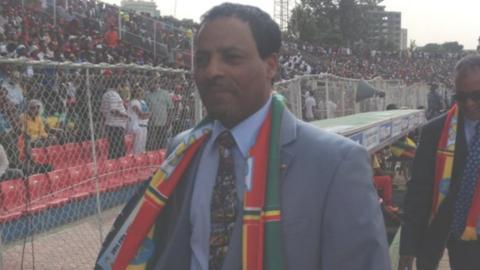 Ethiopia Football Federation president Sahilu Gebre Mariam