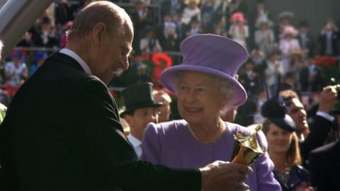 Her Royal Majesty the Queen at Royal Ascot
