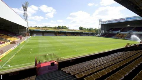 Motherwell's Fir Park stadium