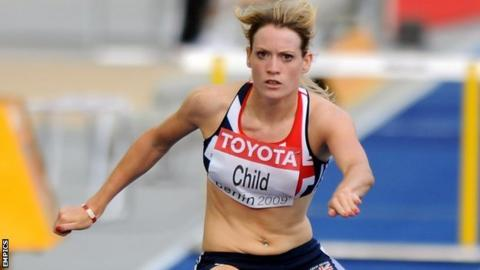 Scottish hurdler Eilidh Child