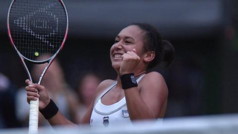 British number three Heather Watson