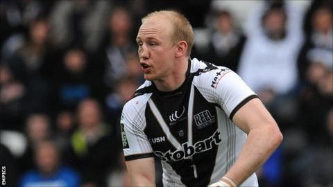 Widnes Vikings full-back Shaun Briscoe