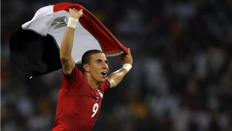 Egypt's Mohamed Zidan