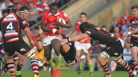London Welsh beat the Cornish Pirates in the 2012 Championship final