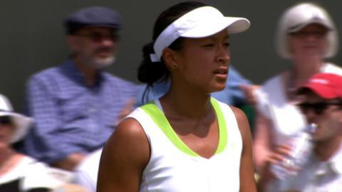 Wimbledon 2012: Anna Keothavong outclassed by Sara Errani
