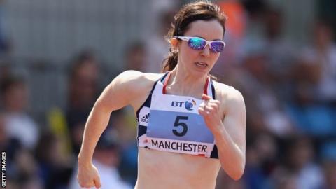 Paralympic athlete Stef Reid