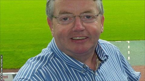 Blackburn Rovers managing director Derek Shaw