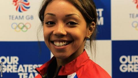 Team GB volleyball's Savanah Leaf