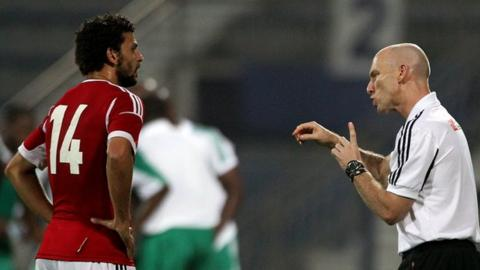 Bob Bradley and Hossam Ghali