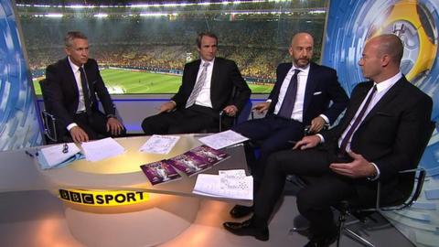 Gary Linekar, Alan Hansen Gianluca Vialli and Alan Shearer