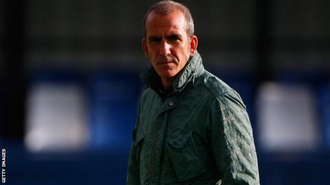 Paolo Di Canio in pre-season training