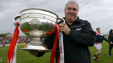 Joe Kernan guided Armagh to the 2002 All-Ireland title