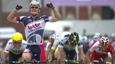 Tour de France: Cavendish well beaten by Greipel in sprint ...