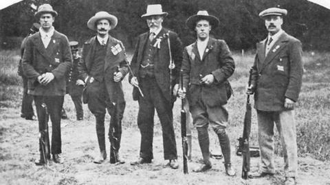 GB 50m rifle shooting team