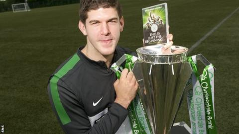 Fraser Forster hopes it is just the beginning of good times at Celtic Park