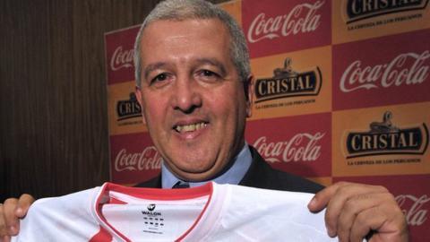 Uruguayan coach Gustavo Ferrin