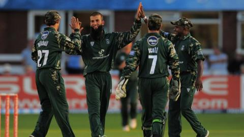 Worcestershire in T20