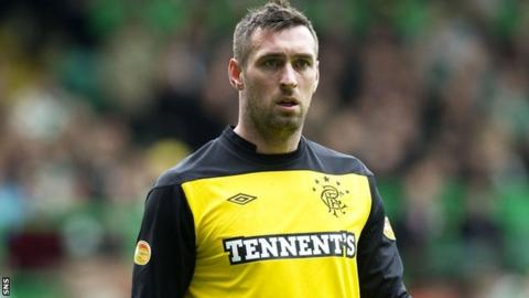 Goalkeeper Allan McGregor