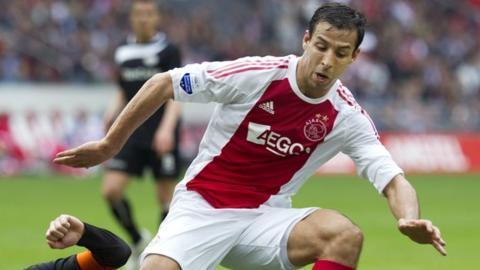 Morocco striker Mounir El Hamdaoui