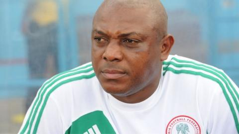 Nigeria coach Stephen Keshi