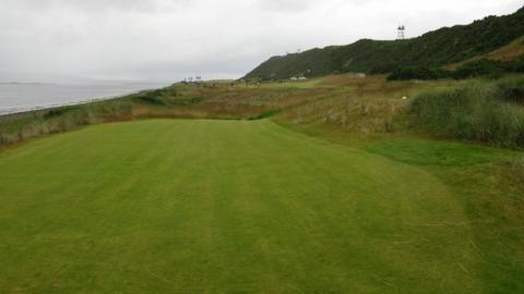 The 10th tee at Castle Stuart Golf Links