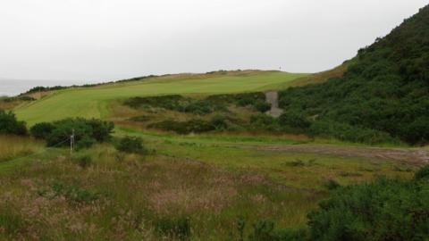 The 12th tee at Castle Stuart Golf Links