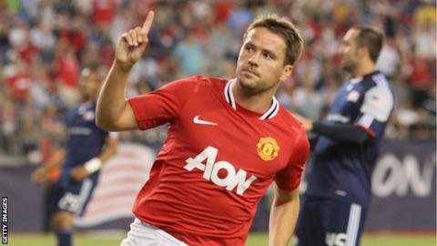 Former Manchester United striker Michael Owen