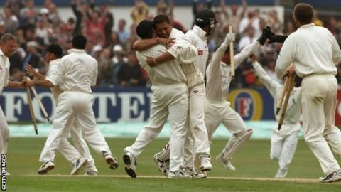England celebrate in 1998