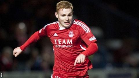 Aberdeen midfielder