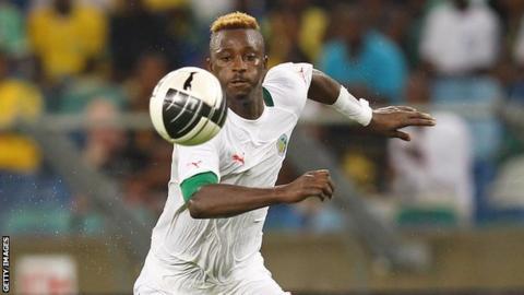 Senegal and Copenhagen's Dame Ndoye