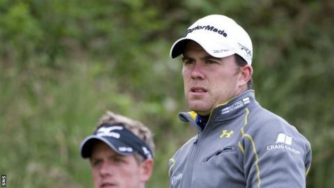 Scottish golfer Richie Ramsay