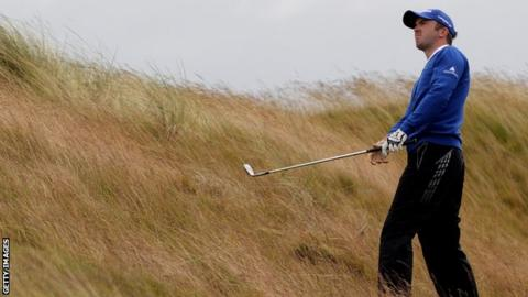 Martin Laird in the rough stuff at last week's Scottish Open