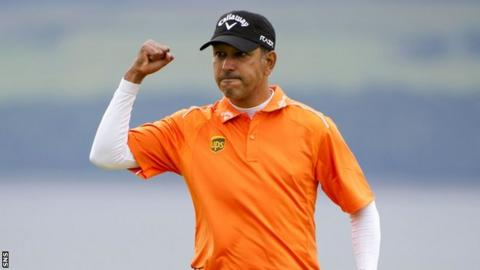 Jeev Milkha Singh won a play-off to clinch the Scottish Open