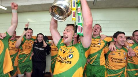 Donegal won the Ulster Championship in 2011