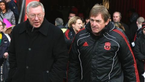 Sir Alex Ferguson and Kenny Dalglish