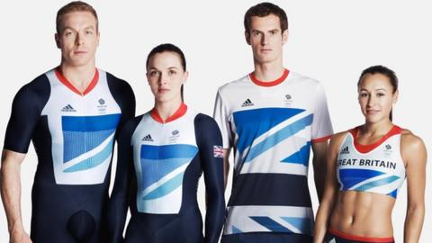 Sir Chris Hoy, Victoria Pendleton, Andy Murray and Jess Ennis