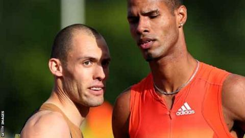 Dai Greene and Javier Culson