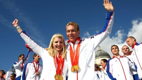 Rebecca Adlington and Sir Chris Hoy