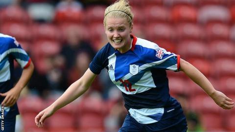 Team GB forward Kim Little